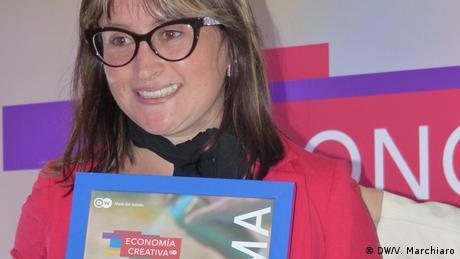 Lateinamerika Preisverleihung von Economía creativa, eine Initiative der Deutschen Welle (DW/V. Marchiaro)