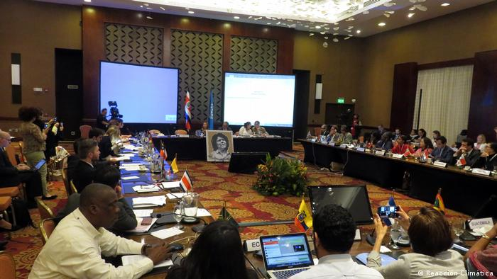 The agreement was reached in Escazu, Costa Rica