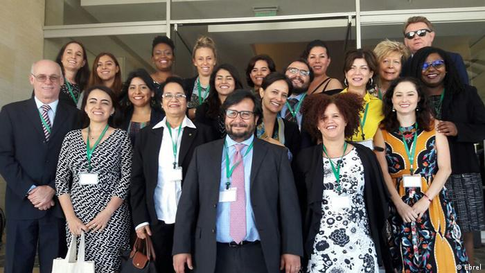 Conference members in Costa Rica