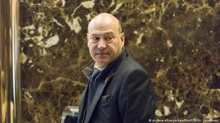 USA Gary Cohn in der Lobby des Trump Tower in New York (picture-alliance/dpa/Pool/CNP/A. Lohr-Jones)