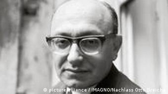 Der deutsche Literaturpapst Marcel Reich-Ranicki, aufgenommen 1966.