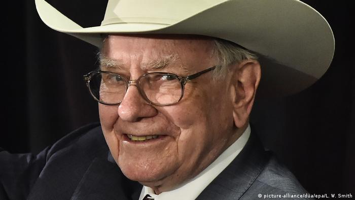 Warren Buffett - US-Investor (picture-alliance/düa/epa/L. W. Smith)