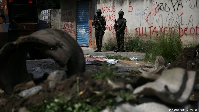Militär übernimmt Kontrolle in Rio de Janeiro (Reuters/P. Olivares)
