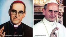 Bildkombo - Óscar Romero und Paul VI