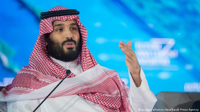 Saudi-Arabien | Kronprinz Mohammed bin Salman (picture alliance /dpa/Saudi Press Agency)