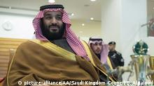 Saudi-Arabien | Kronprinz Mohammad bin Salman (picture-alliance/AA/Saudi Kingdom Council/B. Algaloud)