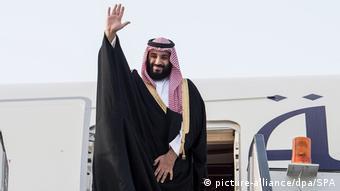 El príncipe heredero de Arabia Saudita, Mohámed bin Salmán.