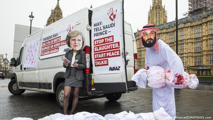 UK | Protestaktion (picture-alliance/ZUMAPRESS.com)