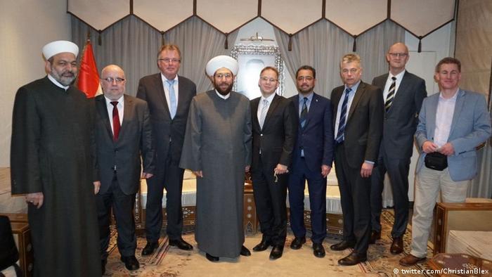AfD'li vekillerin Şam ziyareti Berlin'i karıştırdı