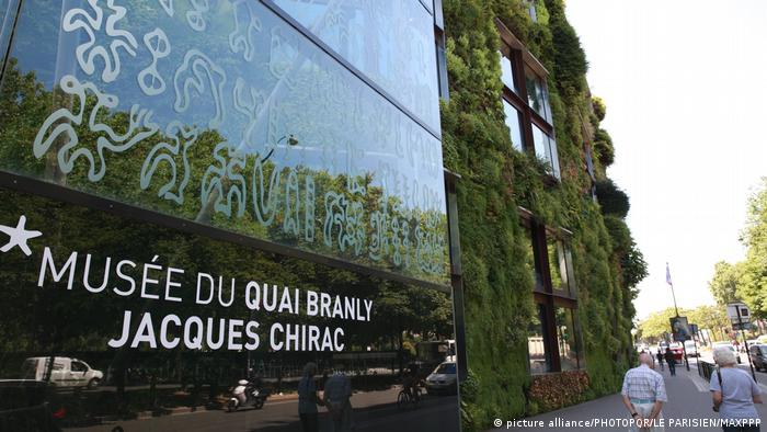 MUSEE DU QUAI BRANLY von JEAN NOUVEL (picture alliance/PHOTOPQR/LE PARISIEN/MAXPPP)