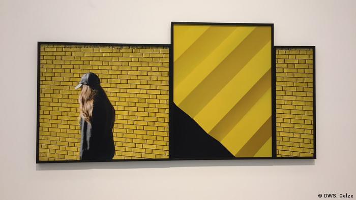 Victoria Binschtok: Yellow Cluster (2016) (DW/S. Oelze)