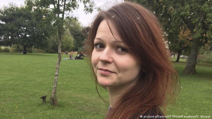 Yulia Skripal - Daughter of Russian spy Sergei Skripal