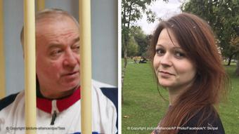 Bildkombo - Sergei Skripal und seine Tochter Yulia