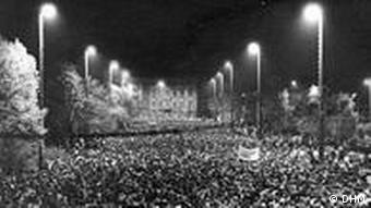 Poniedziałkowa manifestacja 10 października w Lipsku