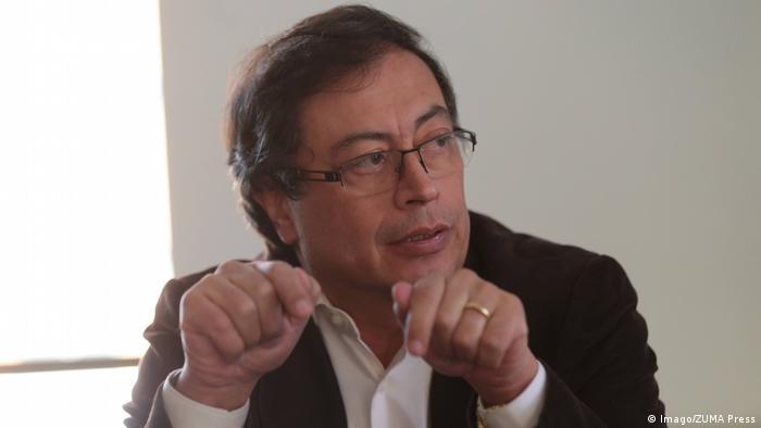 Gustavo Petro, ex alcalde de Bogotá, representa al bloque de izquierda.
