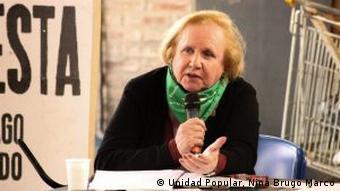 Nina Brugo Marcó, abogada laboralista y Personalidad Destacada de los DD. HH. en Argentina.