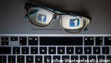 """Fake news inquiry. File photo dated 30/11/15 of Facebook's logo reflected in a pair of glasses. Facebook has admitted it was """"far too slow to recognise"""" Russian election interference and the spread of fake news on the social networking site. Issue date: Monday January 22, 2017. In a blog post on social networks and their influence, product manager Samidh Chakrabarti said that at its worst social media """"allows people to spread misinformation and corrode democracy"""". See PA story TECHNOLOGY Facebook. Photo credit should read: Dominic Lipinski/PA Wire URN:34595258 