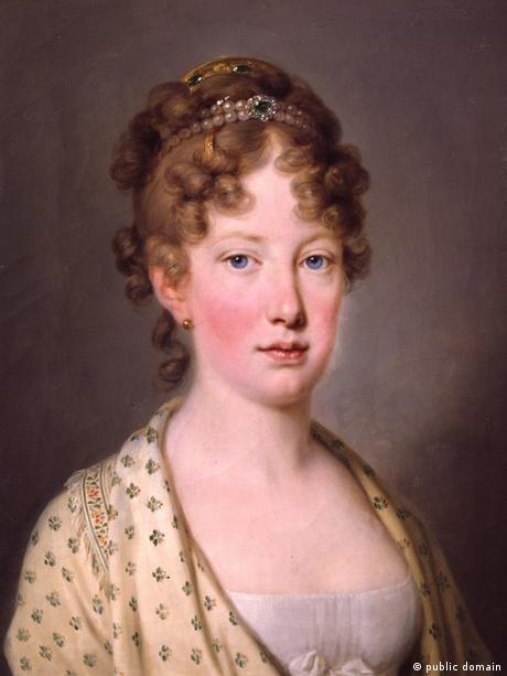 Maria Leopoldina von Österreich (1797-1826), Gemahlin des Kaisers von Brasilien (public domain)