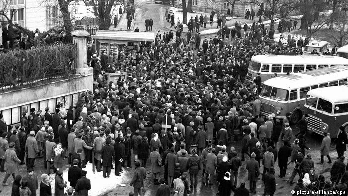 Polen, Studentenproteste in Warschau 1968 (picture-alliance/dpa)