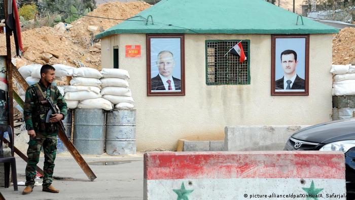 Syrien Brüchige Feuerpause in Ost-Ghuta (picture-alliance/dpa/XinHua/A. Safarjalani)