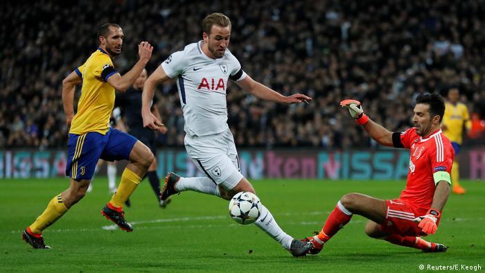 UEFA Champions League, Tottenham vs Juventus Turin (Reuters/E.Keogh)