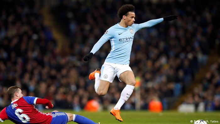 Leroy Sane Honored In England Now Germany Starting Berth Beckons Sports German Football And Major International Sports News Dw 23 04 2018