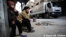 Syrien Krieg - Ostghuta bei Damaskus | Kinder