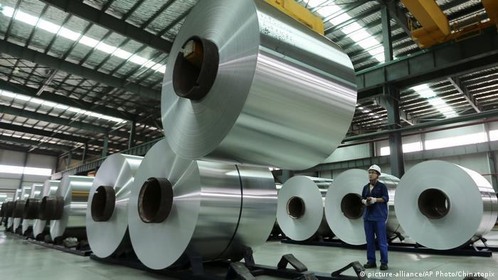 China Fabrik in Anhui - Aluminium (picture-alliance/AP Photo/Chinatopix)