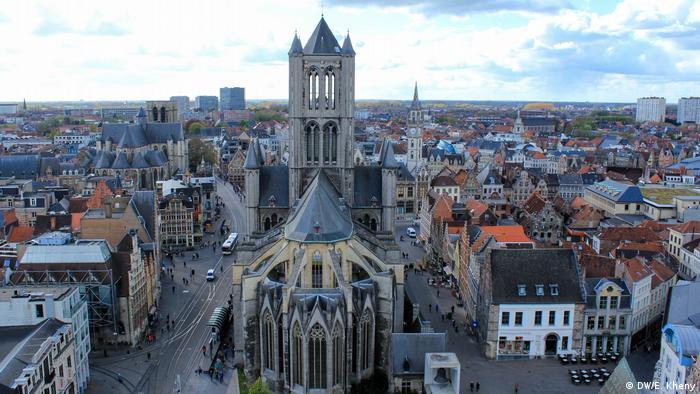 Belgien Gent   St.-Bavo-Kathedrale