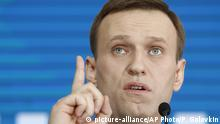 Russland Alexei Nawalny, Oppositionspolitiker