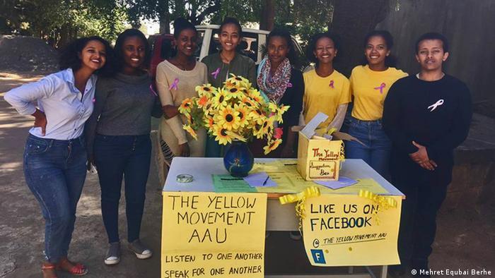 Äthiopien Addis Abeba die Gelbe Bewegung