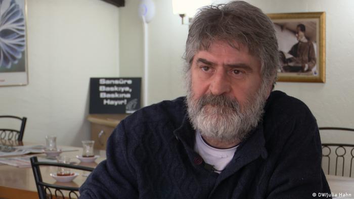 Faruk Eren, der Vorsitzende der türkischen Gewerkschaft DİSK