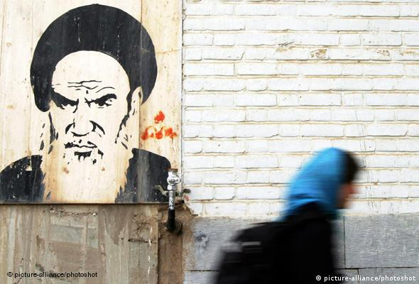 Generation 89 Iran Khomeini und junge Frau