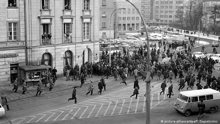 1968: quando os judeus viraram inimigos da Polônia