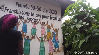 Bujumbura, Burundi zum Thema sexuelle Gewalt gegen Frauen