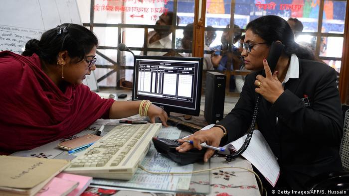 Indien Jaipur Berufstätige Frauen