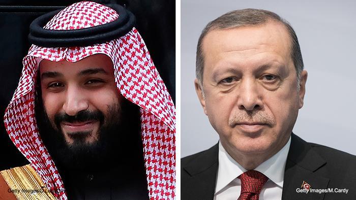 Erdogan und der saudische Kronprinz Mohammed bin Salman