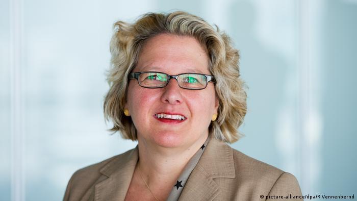 Svenja Schulze (picture-alliance/dpa/R.Vennenbernd)