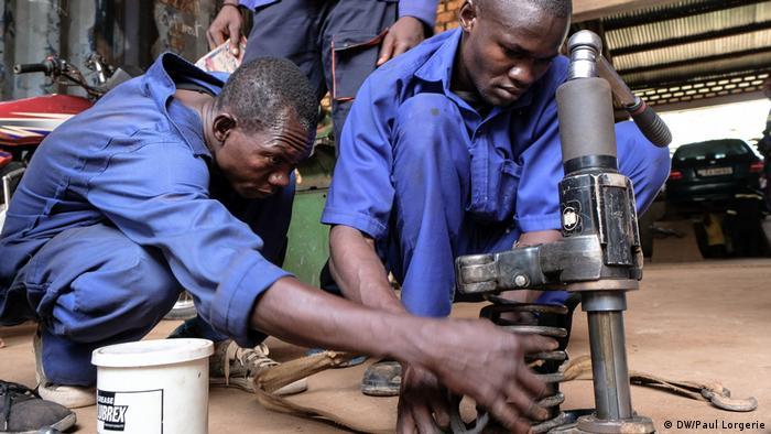Bangui, Zentralafrikanische Republik, Don Bosco Zentrum (DW/Paul Lorgerie)