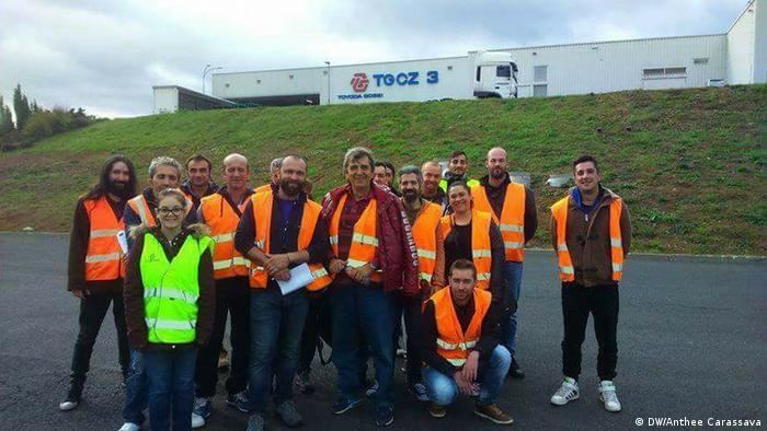 Griechische Arbeiter bei Toyota/Tschechische Republik