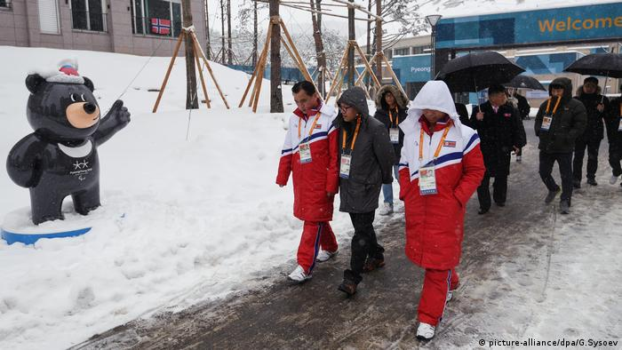 Paralympic Dorf in Pyeongchang (picture-alliance/dpa/G.Sysoev)