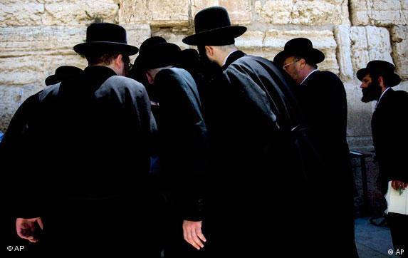 Ultraorthodoxe Juden in Jerusalem