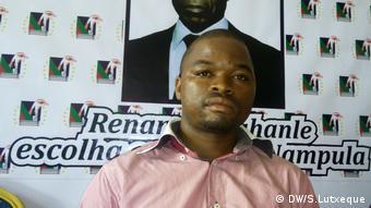 Mosambik, Nampula, Ossufo Ulane - Sprescher von RENAMO, Opositionspartei