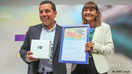 Lateinamerika Preisverleihung von Economía creativa, eine Initiative der Deutschen Welle (DW/V.Marchiaro)