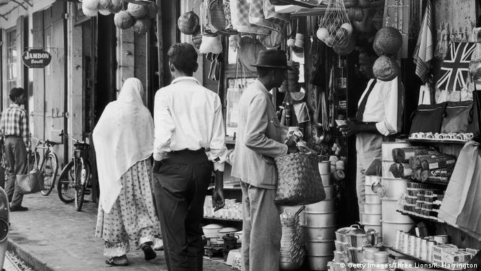 Столицата Порт Луи през 1955 година