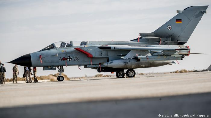 US military asks Germany to extend Tornado mission in Syria