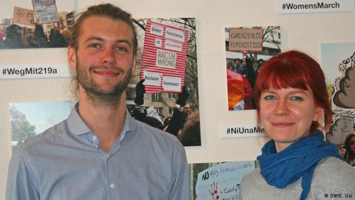 Jan Holger Hennies y Mirjana Mitrovic