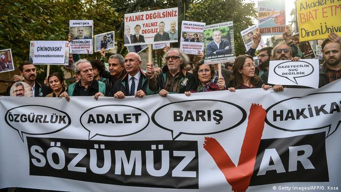 Türkei Proteste - Inhaftierte Journalisten