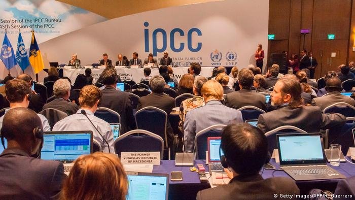 IPCC - Intergovernmental Panel on Climate Change (Getty Images/AFP/H. Guerrero)