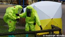 Großbritannien Untersuchungen zum Vergiftungs-Fall Salisbury